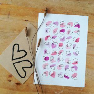 pop-affiche-a-encadrer-aquarelle-fait-main-rose-violet