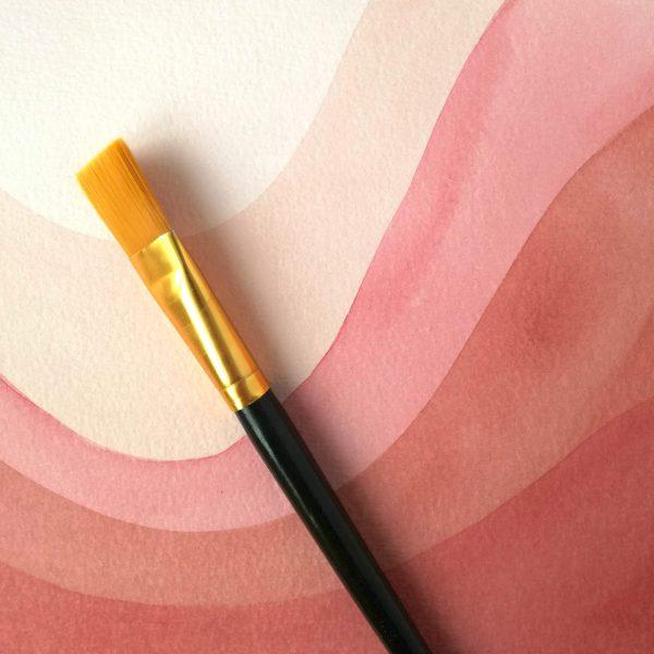 pop-illustration-aquarelle-detail-rose-minimaliste