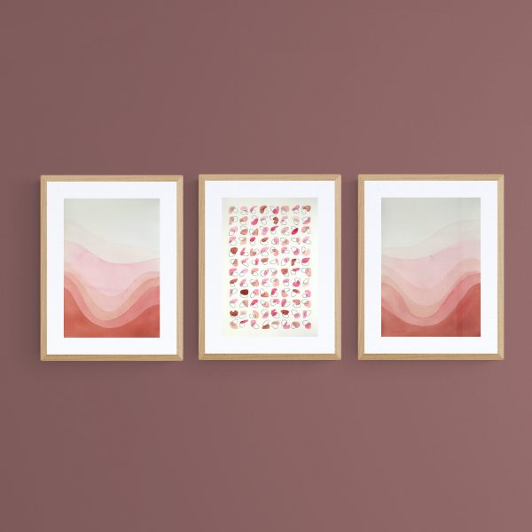 pop-trois-illustrations-assorties-abstrait-roses-graphique-fait-main